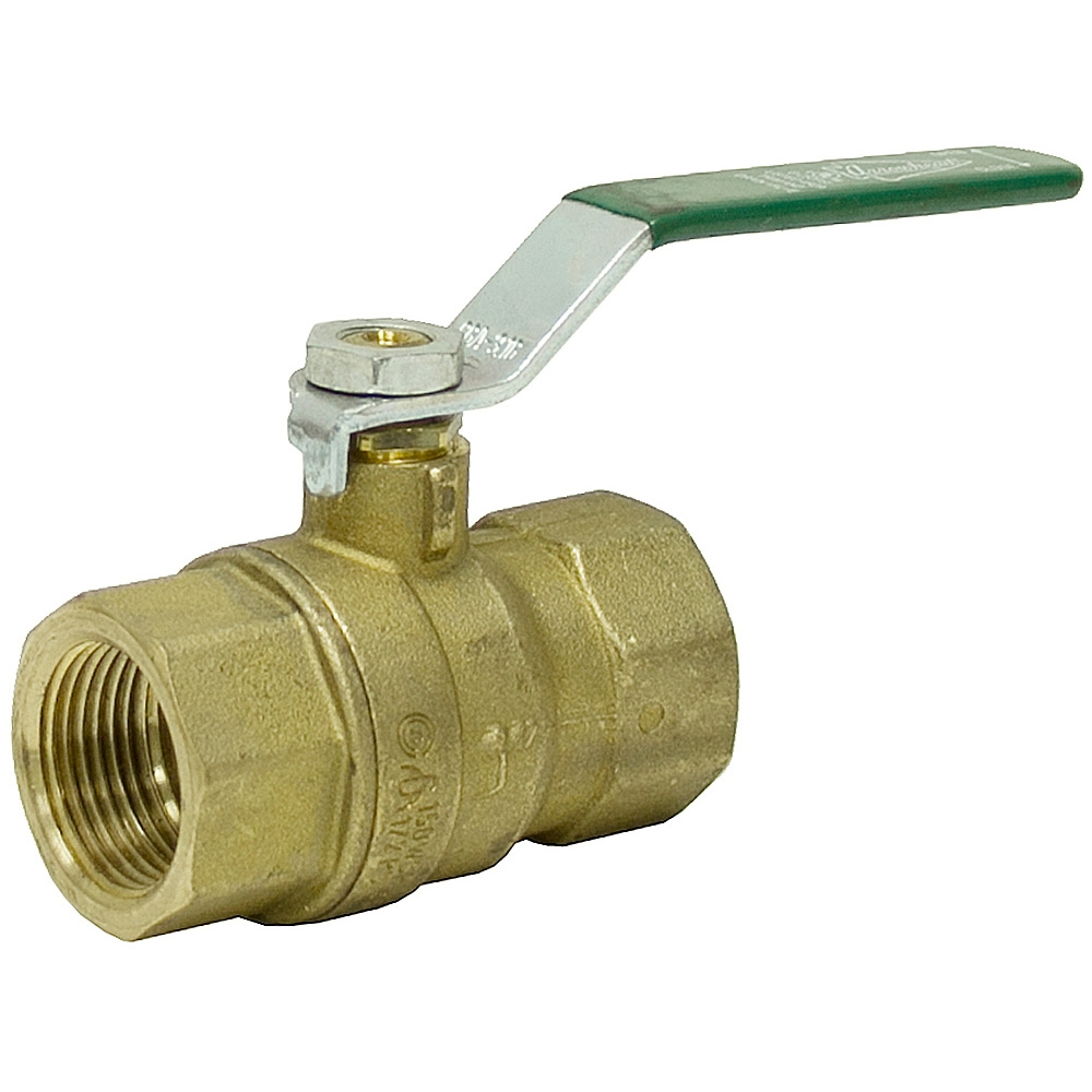 Quot brass ball valve t shut off valves water